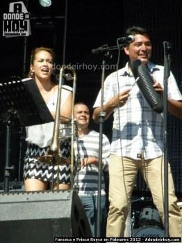 Fonseca y Prince Royce en Palmares 2013