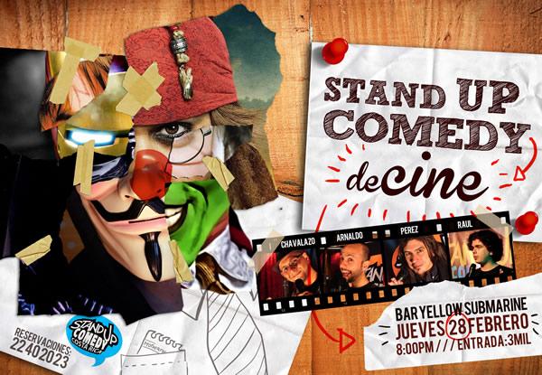 Standup Comedy Costa Rica - Especial de Cine