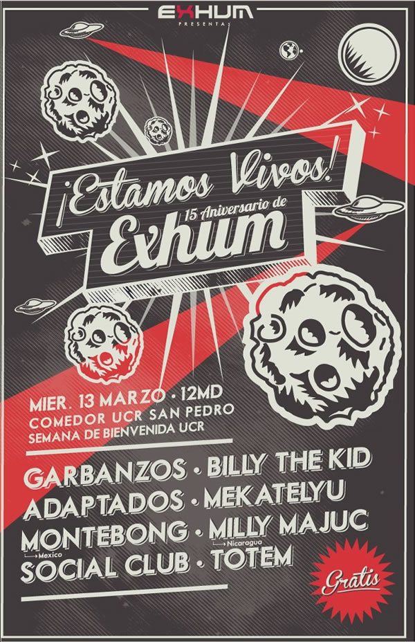 Los 15 de Exhum