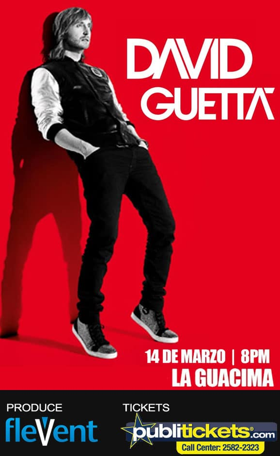 David Guetta en Costa Rica