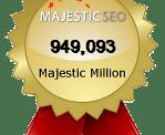 Reconocimiento de Majestic SEO para Adondeirhoy.com