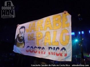 Concierto de Jarabe de Palo en Costa Rica