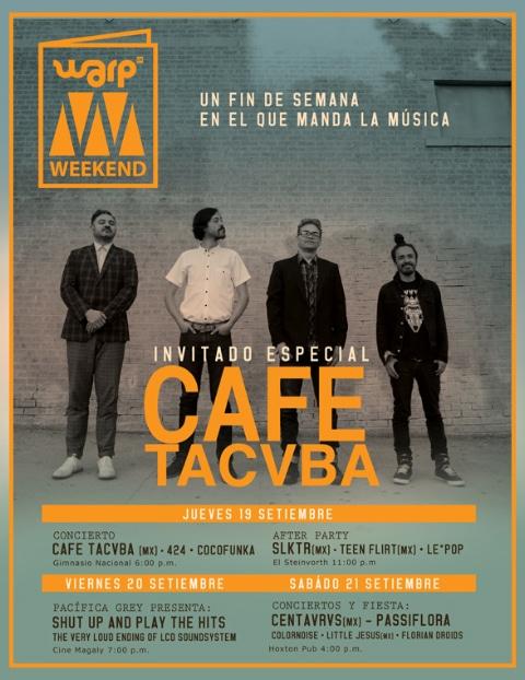 Inicia Venta de Entradas para Cafe Tacvba