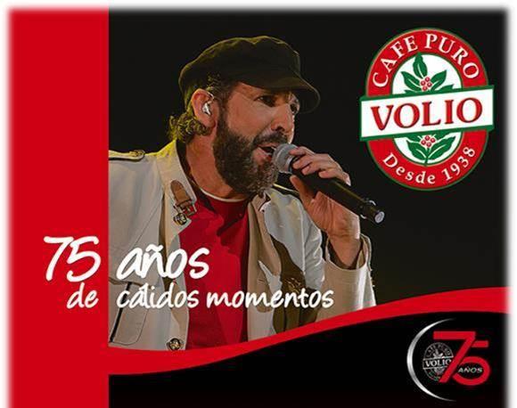 Juan Luis Guerra y Cafe Volio Rompen Record