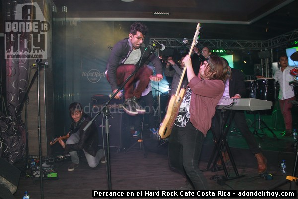 Percance en el Hard Rock Cafe Costa Rica