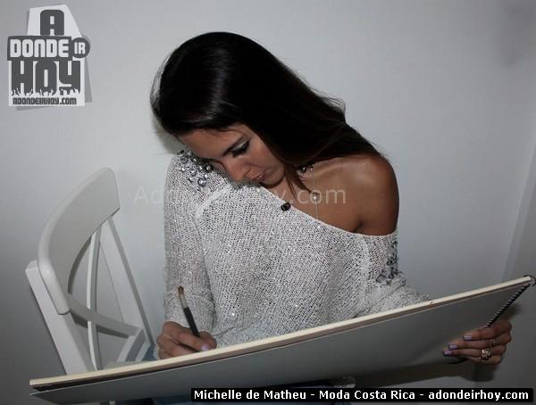 Michelle de Matheu - Moda Costa Rica