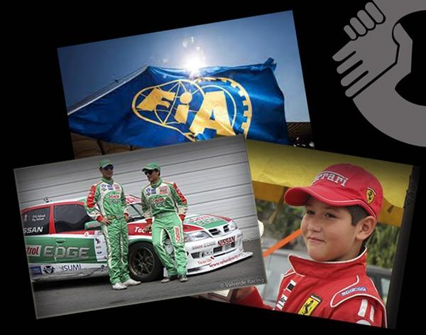 ticos galardonados en FIA
