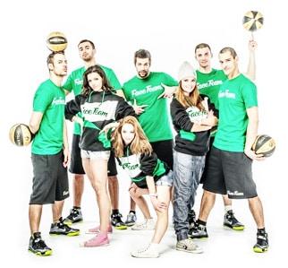 Baloncesto Acrobatico Face Team