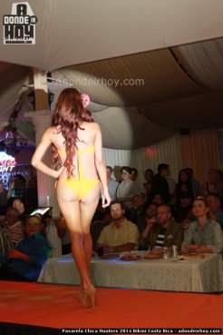 Pasarela Chica Hooters 2014 Bikini Costa Rica - 013