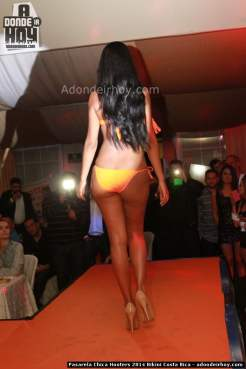 Pasarela Chica Hooters 2014 Bikini Costa Rica - 155