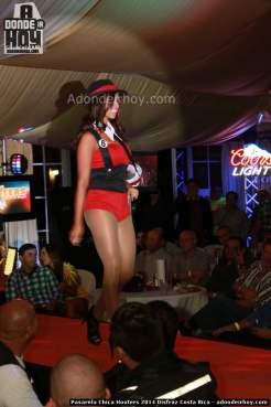 Pasarela Chica Hooters 2014 Disfraz Costa Rica - 039