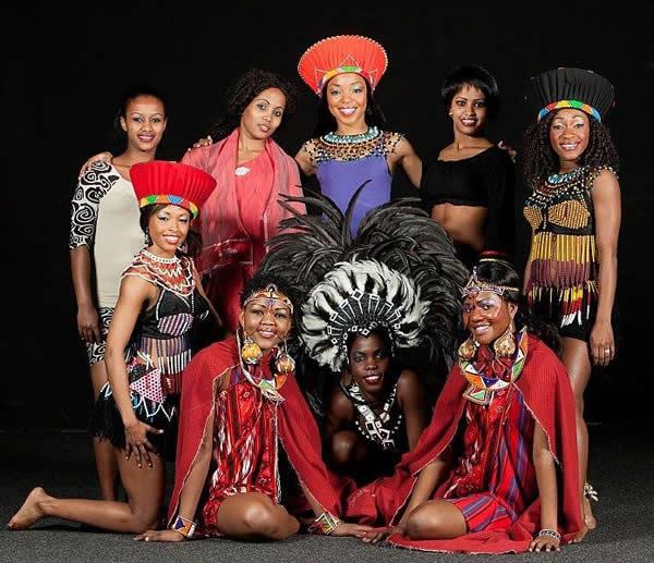 Mother Africa en Costa Rica - El Circo de los Sentidos