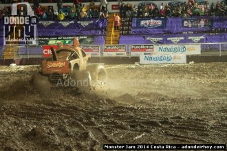 Freestyle Monster Jam 2014 Costa Rica