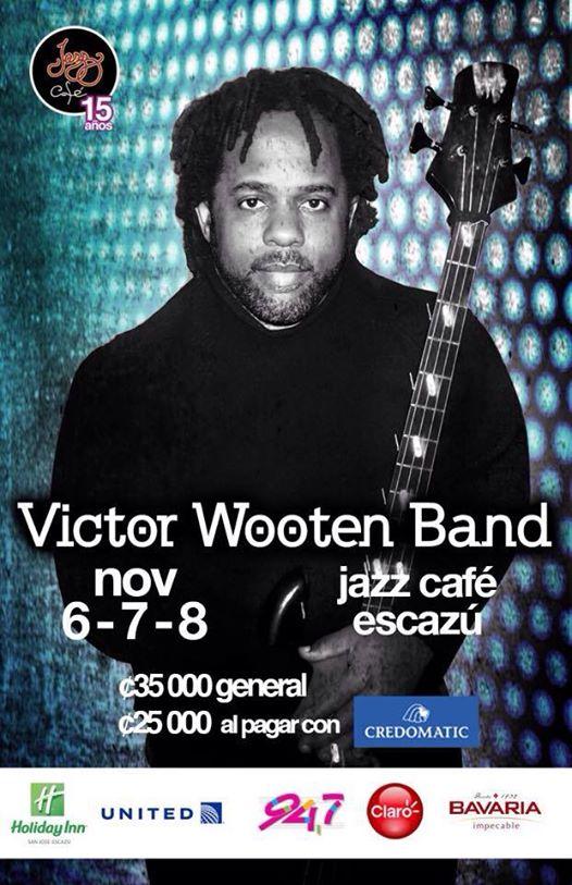 Victor Wooten Cierra Aniversario de Jazz Cafe