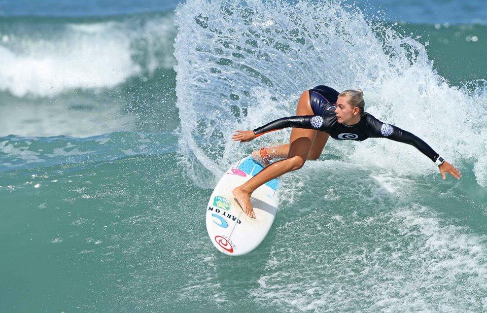 Leilani McGonagle gana en Brasil