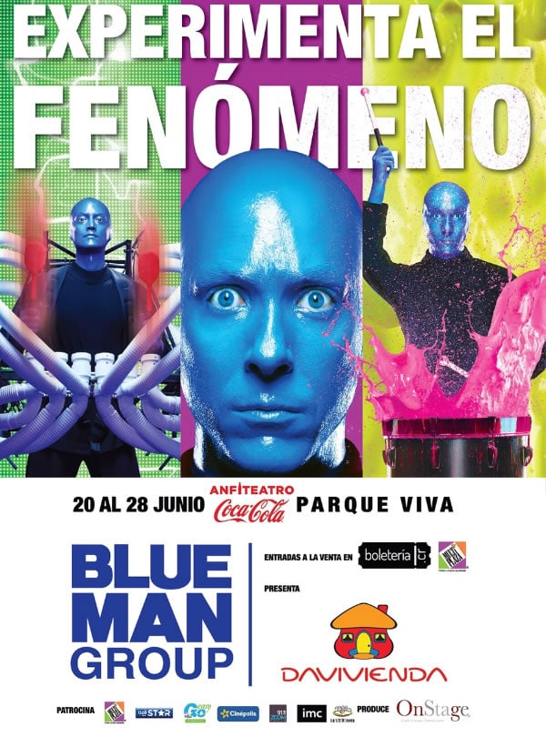 La Media Docena con Blue Man Group