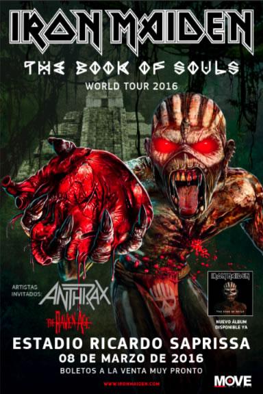 Concierto Iron Maiden Costa Rica