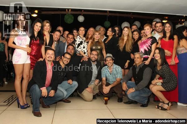 Recepcion La Maria Cafe Television 258