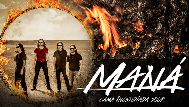 "Maná vuelve a Costa Rica en concierto con ""Cama Incendiada"""