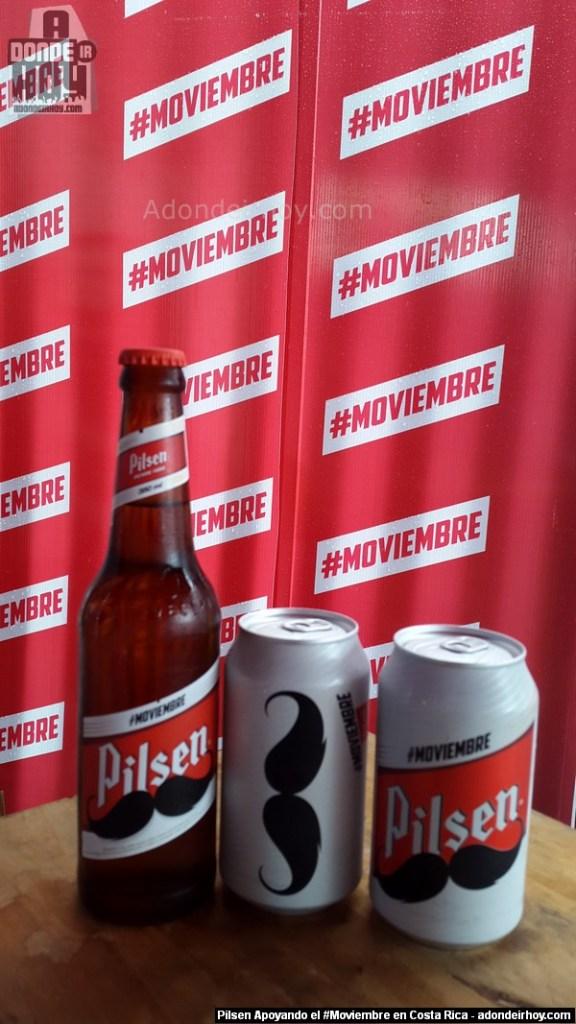 Pilsen Apoyando el #Moviembre en Costa Rica