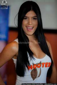 Lindsay Salazar Chica Hooters 2016 Costa Rica