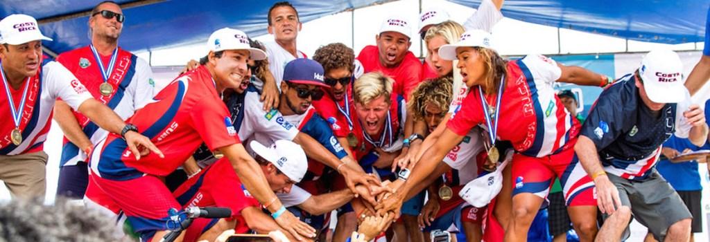Mundial de Surf Costa Rica 2016 - Selección Tica
