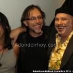 Pato Barraza, Bernal Villegas, Roberto Ferroque Autenticos del Rock