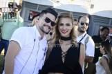 Francisco Arroyo, gerente de marca Axe y Karina Ramos