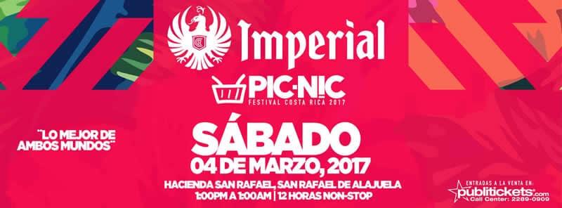 Festival PICNIC 2017 Costa Rica