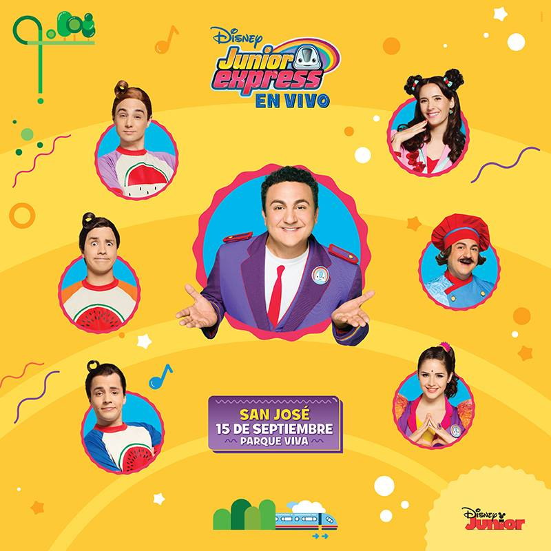 Disney Topa Junior Express en Costa Rica 2017