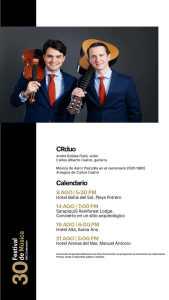Festival de Música BAC Credomatic 2021 - Calendario 4