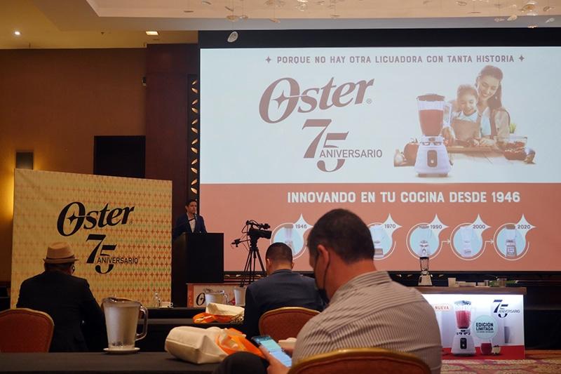 Presentación oficial Oster 75 aniversario en Costa Rica