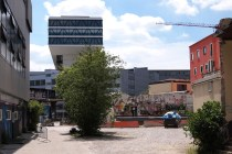 Altes Gelände und neue Architektur