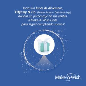 545db3be0f12 Tiffany   Co. Donará un porcentaje de sus ventas a Make-A-Wish Chile