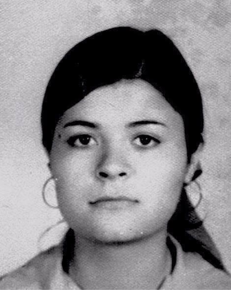 Alicia de los Ríos. Detenida desaparecida el 5 de enero de 1978.