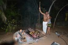 Grilling the fish ! BALAMJUYUC!
