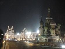 Kremlin at midnight