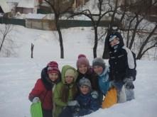 Friends, sliding and enjoy!