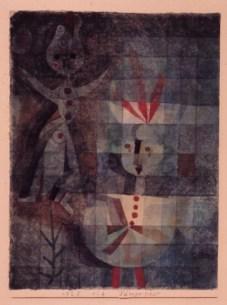 Paul Klee Tänzerpaar 1923