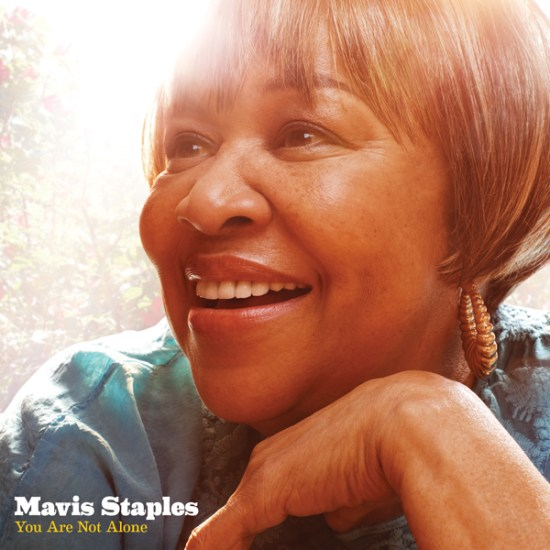 MAVIS STAPLES You Are Not Alone album art