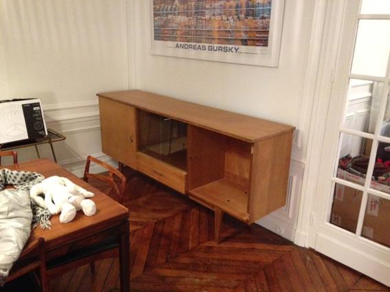 enfilade 50 s revisitee adopte un meuble
