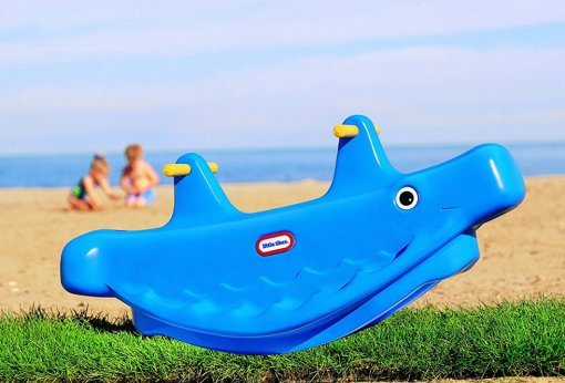 Little Tikes Blue Whale Teeter Totter / See Saw