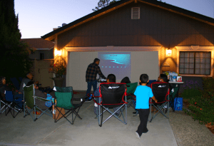 Looking forward to include our child in outdoor movie nights