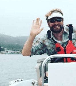 Todd sailing