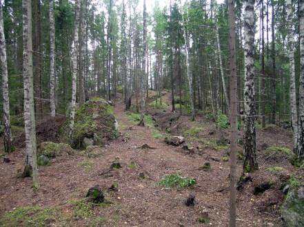 Tampere Mustavuoren osa-aluetta B