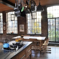 Kitchen Island Table Combination Sears Appliances A Phenomenal London Loft – Adorable Home