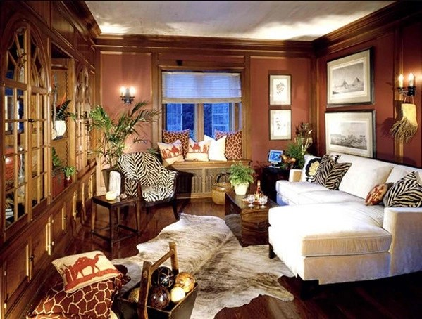 African Themed Living Rooms: Beauty and Style  Adorable Home