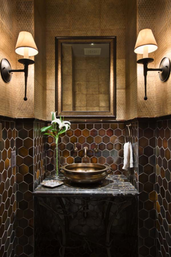 Alluring dark bathroom designs from all over the world