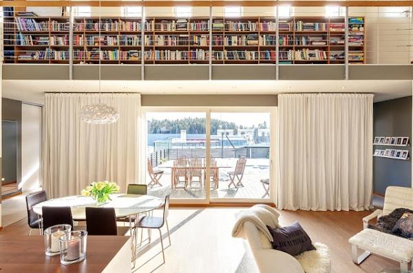 Amazing interior design of a Scandinavian house  Adorable