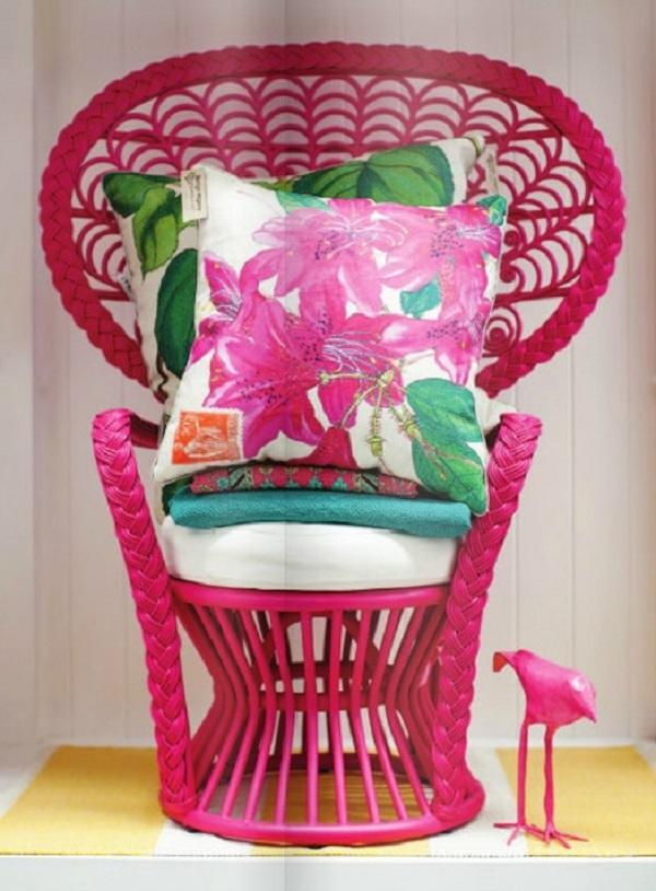 BohoChic peacock chair